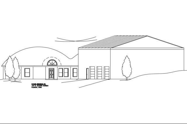 Rendering — Rendering of Jay and Jeanne Hansen home.
