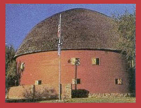 The Old Round Barn — The Arcadia Round Barn still stands after 111 years! It is one of our nation's unique landmarks.