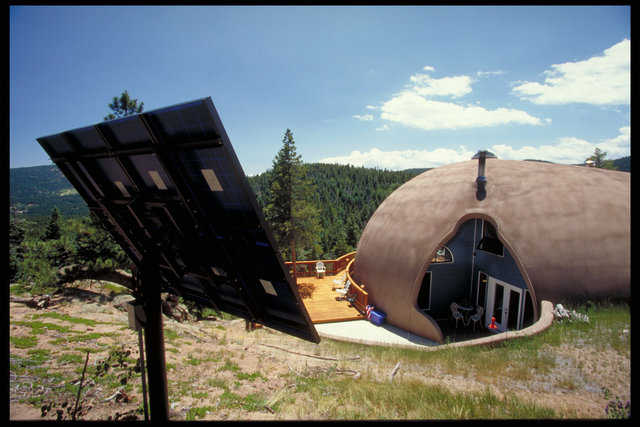 Off-grid Conifer, Colorado Home — 3,800 sf home with breathtaking view of the Rockies.