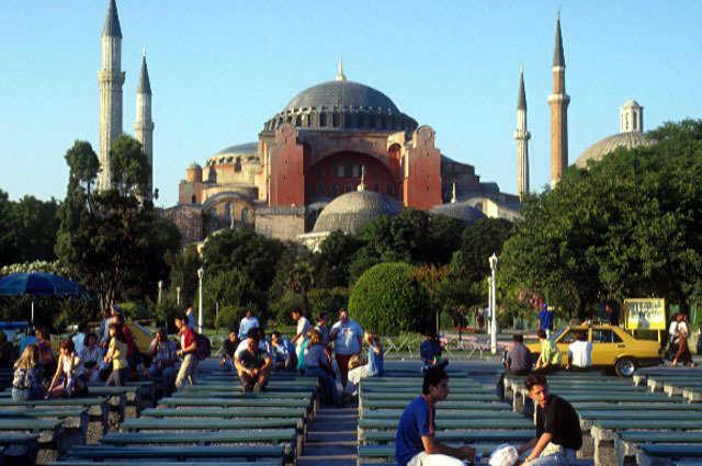Hagia Sophia in Istanbul, Turkey | Monolithic Dome Institute