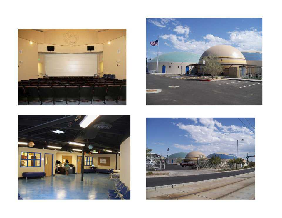 State-of-the-art Structures — All four domes are totally solar powered and equipped with the latest technology. They provide 25,000 square feet of usable space.