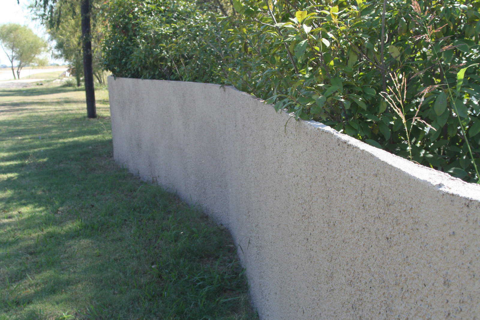 Spray In Place Concrete Fences How To Get Just The Look