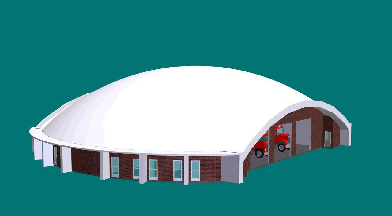 Affordability — Monolithic Dome fire stations can be constructed and maintained affordably.