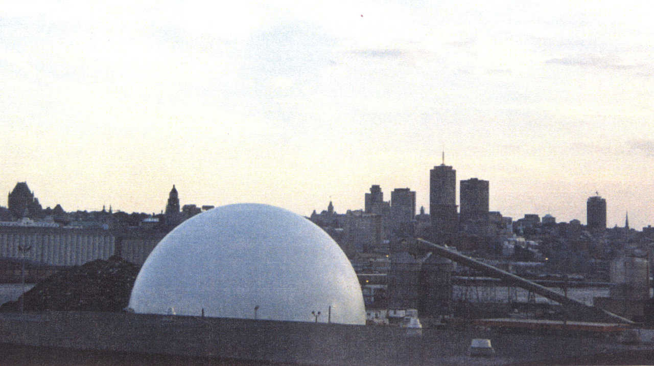 Nickel Storage — In Montreal, Quebec, Bechtel Quebec Ltd, operates a Monolithic Dome, 164′ × 84′, that stores nickel concentrate.