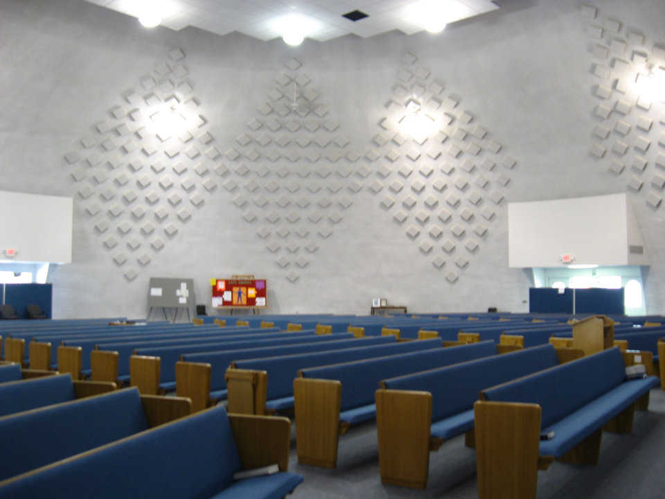 Acoustic Panels — They absorb unwanted echoes and provide a decorative touch.