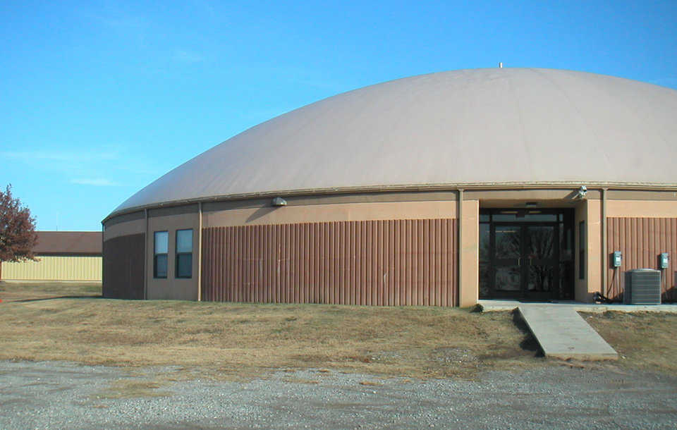 Changed plans — After receiving information about the benefits of Monolithic Domes, the Beggs school board toured domes in Italy, Texas and decided to build Monolithic, rather than a metal structure.