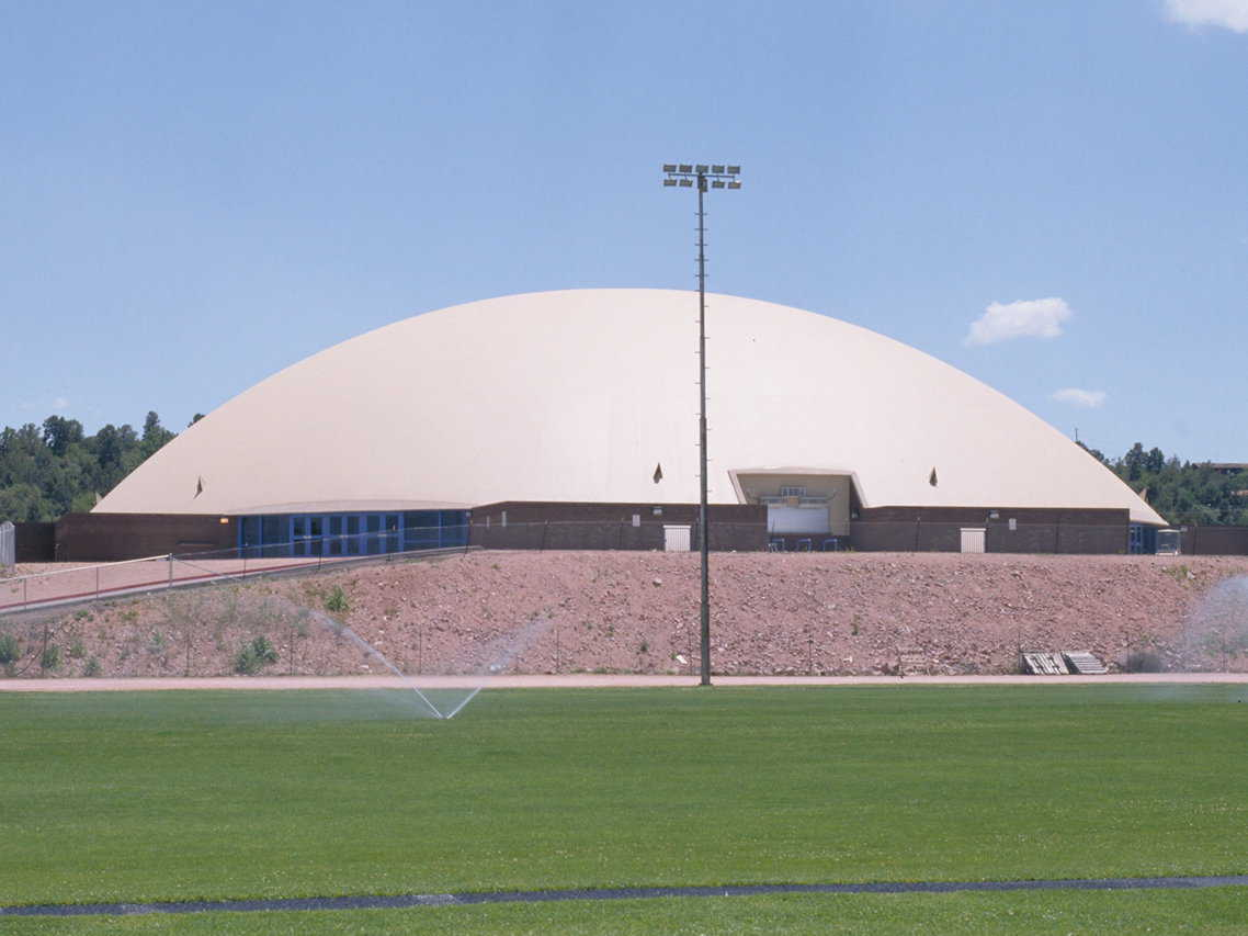 Payson Athletic Center | Monolithic Dome Institute