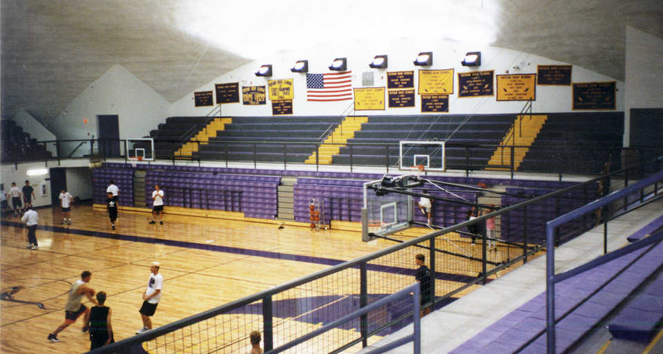 Basketball and more — The district uses the dome for its middle and high school basketball, volleyball and wrestling.