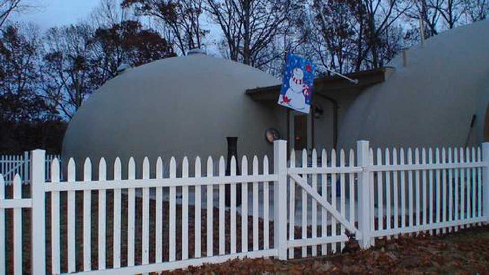 Low maintenance — Like the dome itself, the fence that encircles it needs little upkeep.