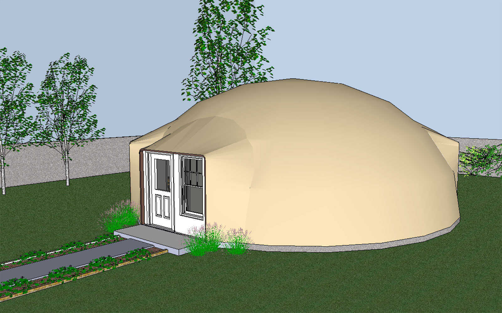 Sketchup A New Planning Tool Monolithic Dome Institute