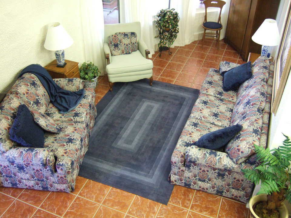 Let's talk! — Charca Casa's great room has several convenient and comfortable conversation areas.