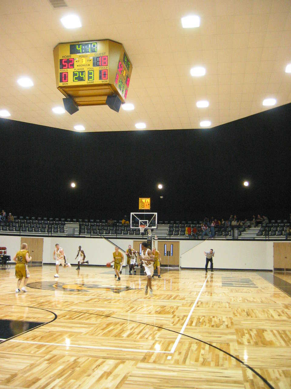 Single hung ceiling — Helps absorb sound in the Gladiator Coliseum in Italy, Texas.