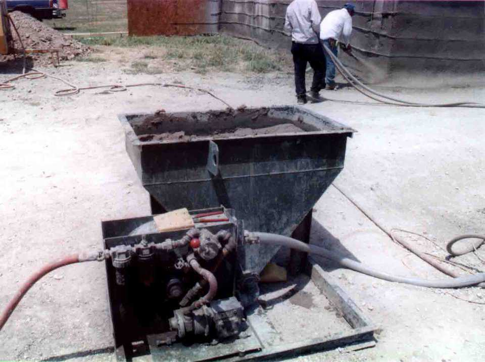 Shotcrete pump — Startup dome builders should invest in a pump that fits what they will build.