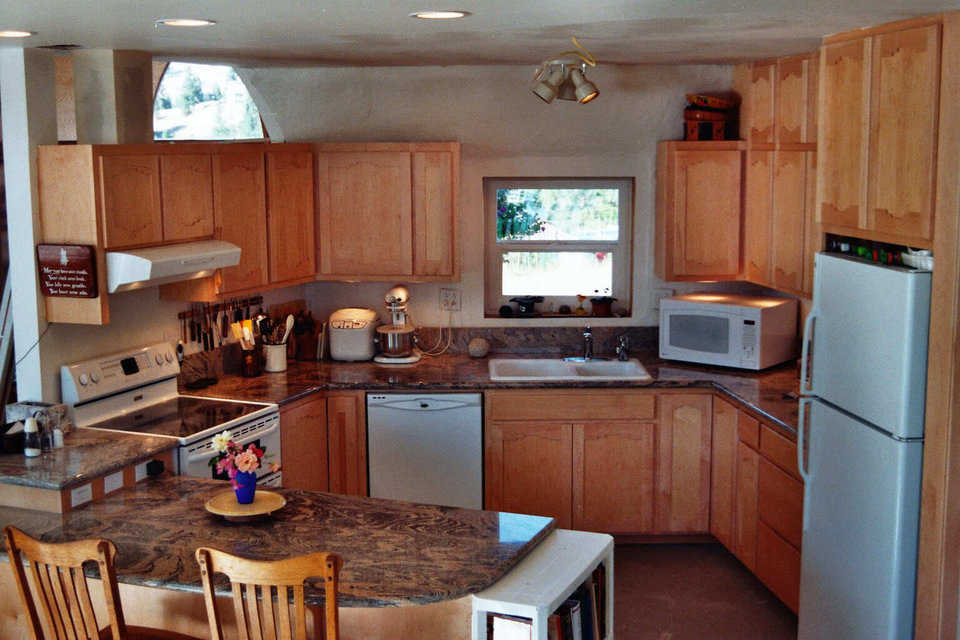 New kitchen — The Bremners love the way their kitchen turned out.