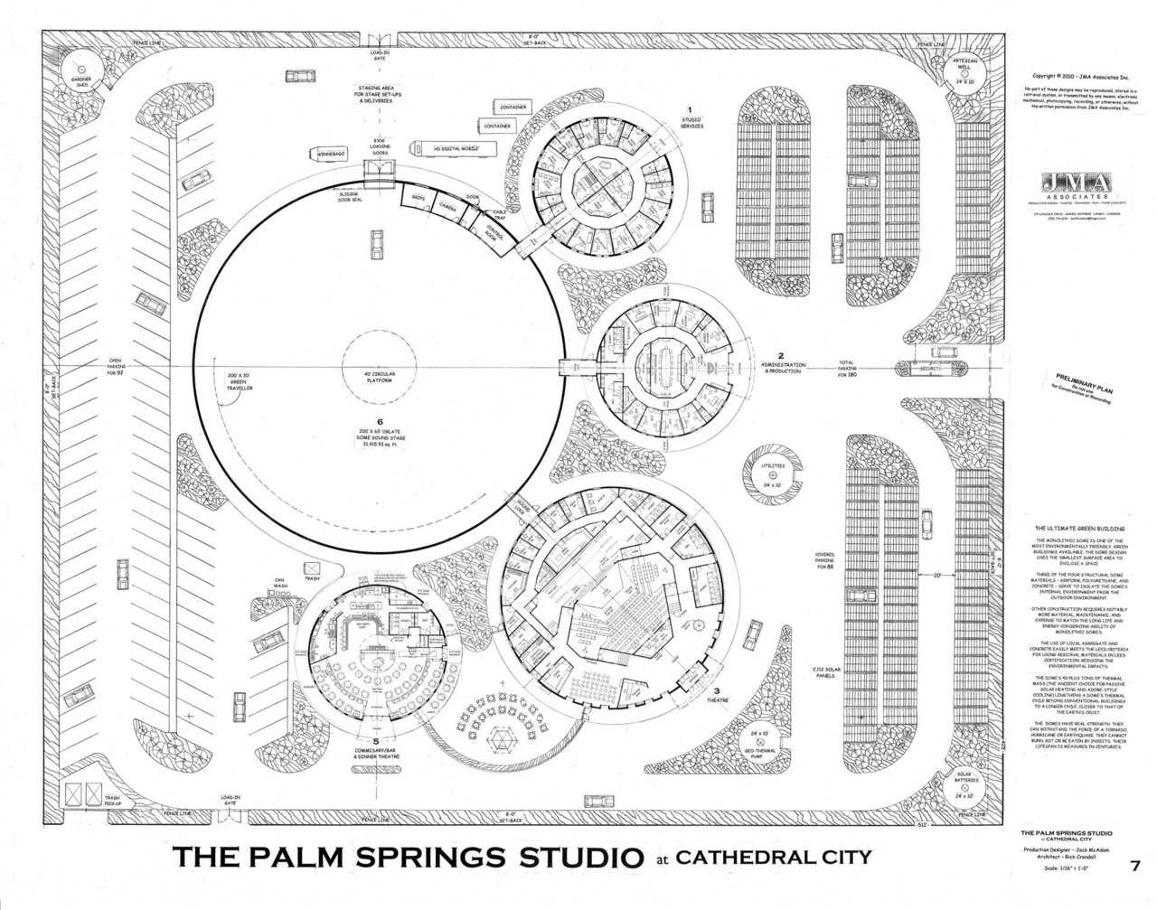 Palm Springs Studio Facility at Cathedral City