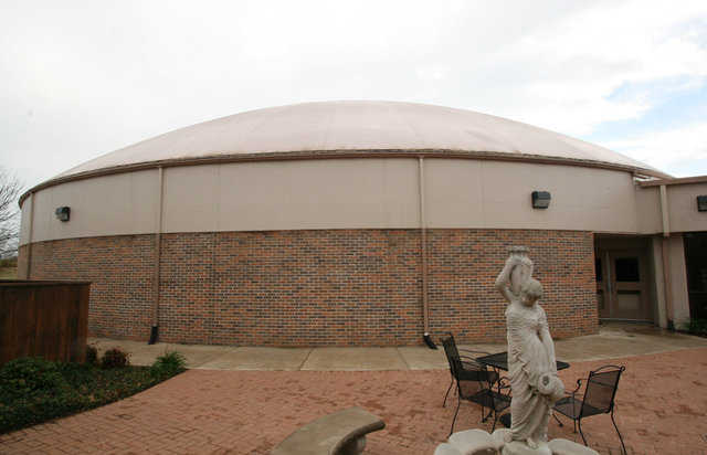 Monolithic Dome Multipurpose Center — Built by Whaley United Methodist Church in Gainesville, Texas, this dome includes a 14-foot stemwall, a diameter of 108 feet and an overall height of 37 feet.