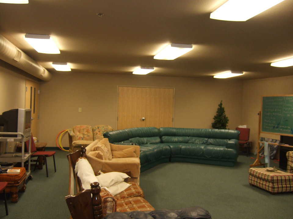 Get informed or just relax — Furnished comfortably, this room can be used for informal meetings or just for relaxation.