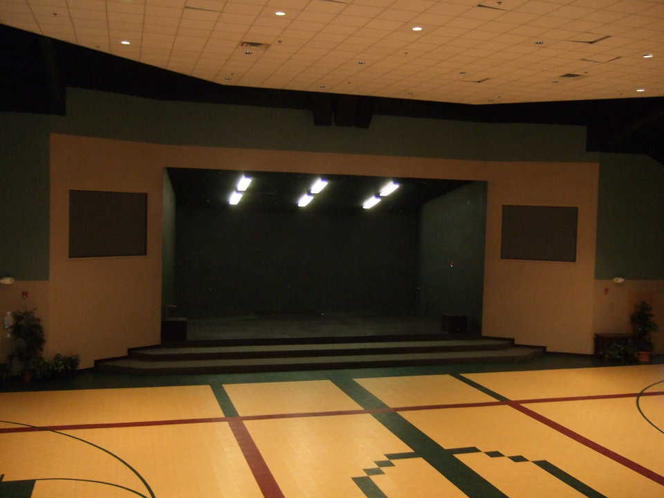 "Community entertainment — Whaley uses the dome's stage for dramatic and musical productions. In October 2009, they were preparing to present ""Our Town."""