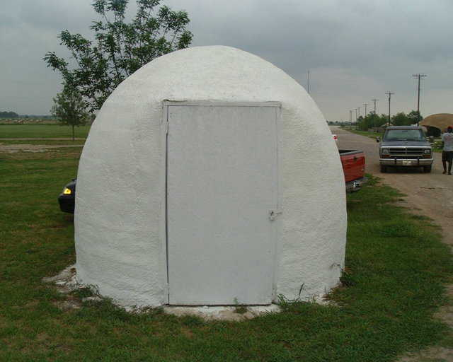 Ecoshell coated with Ceramic Paint — 10-foot EcoShell painted with a two-coat system of ceramic coating.