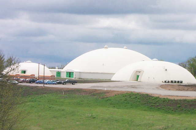 Pattonsburg, Missouri — In 1998, this small, rural community began construction of four Monolithic Domes.