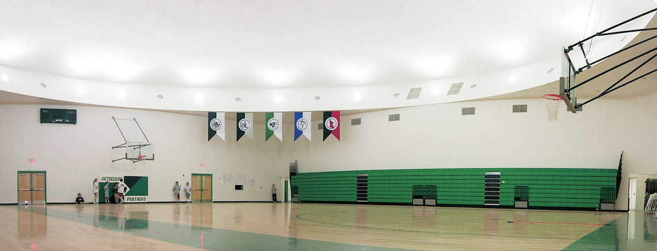 Gymnasium — It's used for physical education classes and all the usual high school sport activities, including basketball, a popular favorite.