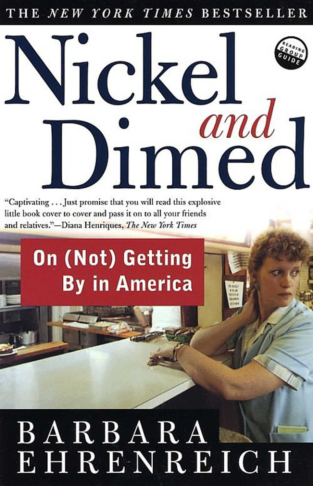 Nickel and Dimed — Best-selling author Barbara Ehrenreich details one of America's primary problems: housing for low-income wage earners.