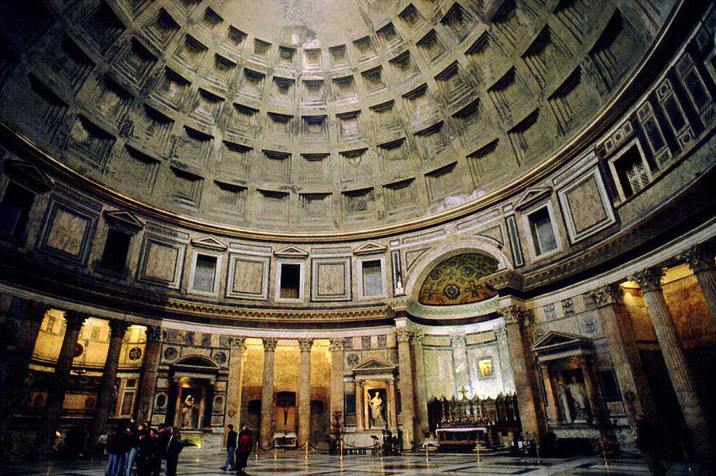 "The Pantheon in Rome, Italy — Originally built as a temple to all the gods of Ancient Rome, the Pantheon was redesigned by Emperor Hadrian's architects in about 126 AD.  It has lasted beautifully for many centuries and proven its ""foreverness."""