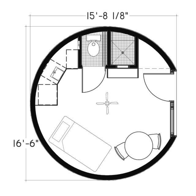 """President's Choice"""" Monolithic Dome Home Plans 