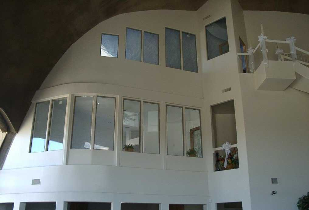 Let there be light! — Windows adorn every level of Yumadome.