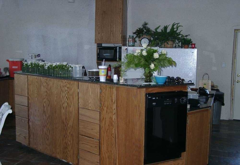 What's cooking? — Centrally located kitchen includes two dishwashers, two sinks and two refrigerators.