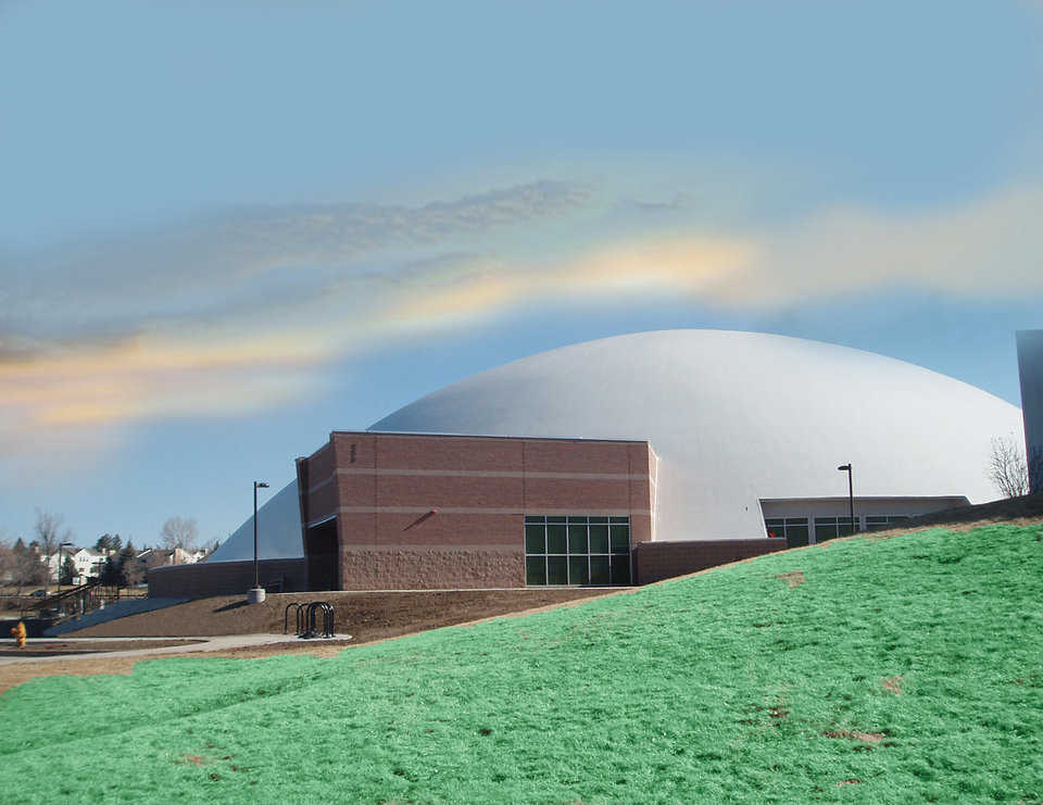 "Mile Hi Church — Mile Hi Church in Lakewood, Colorado calls its new Monolithic Dome sanctuary, ""A work of heart!"""