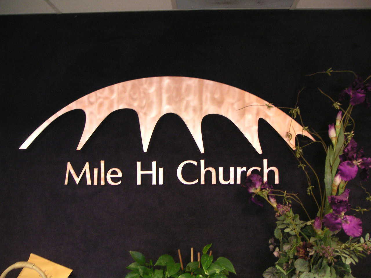 Built for growth — Mile Hi Church plans to eventually add another 600 seats in its dome sanctuary that now seats 1,500.