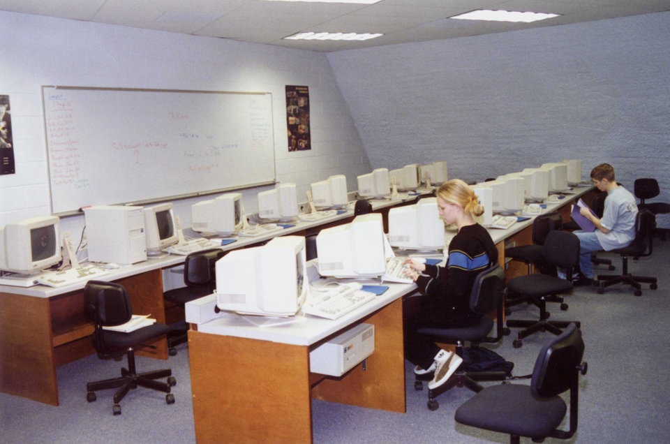 Computer Lab — It's designed and equipped to provide classroom instruction and hands-on experience.