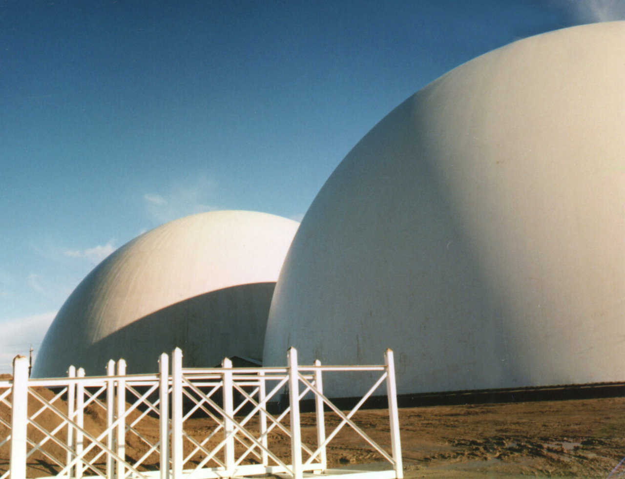 CALAMCO u2014 These two domes which are