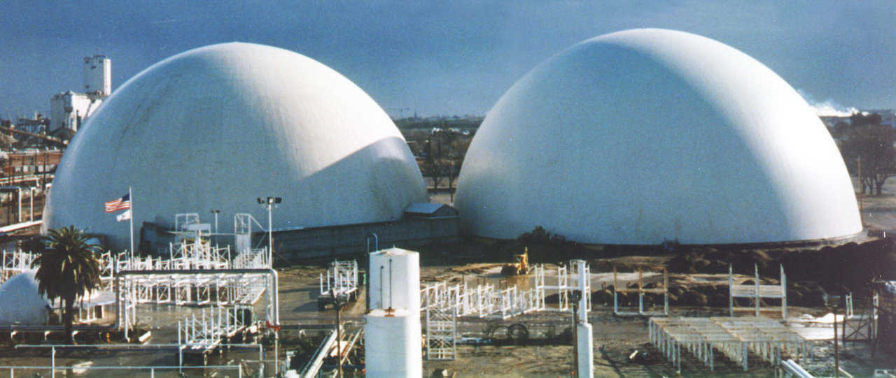 Resistant to Change — The massive thermal capacity of this structure is highly resistant to change in temperature. A Monolithic Dome cold storage uses half the cooling equipment and will keep an even temperature regardless of the outside weather.