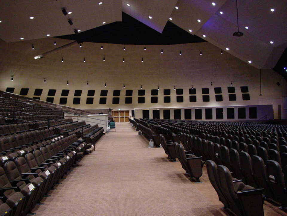 Sanctuary — It seats 3,000. The ministry includes special programs for every age group; televised, recorded services; drama presentations; elementary school; bible academy.