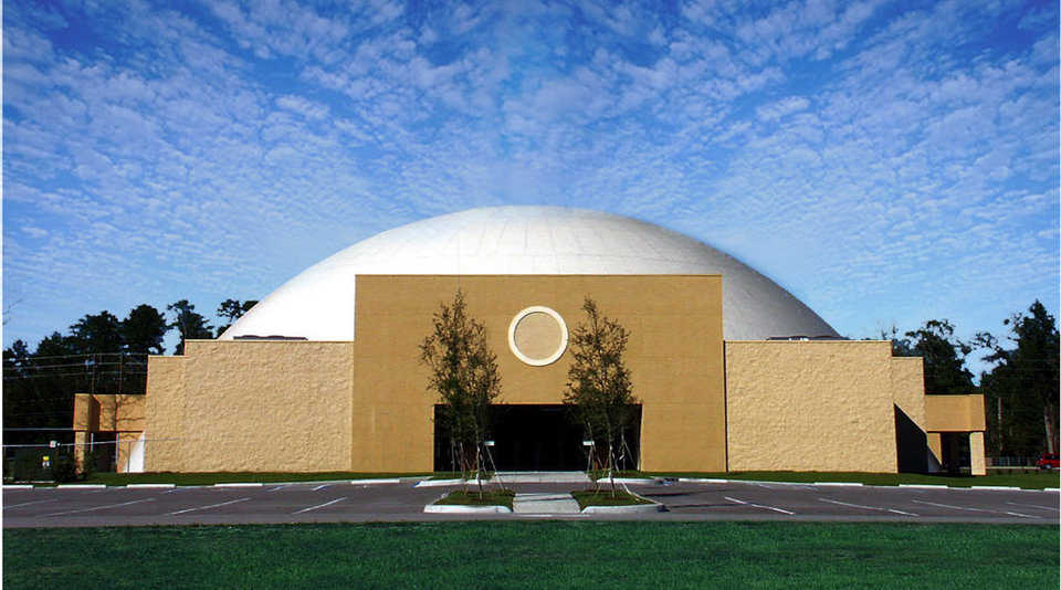 Brooksville Assembly of God — In 2003, Brooksville Assembly of God held its first service in their debt-free Monolithic Dome church that cost $3.8 million.