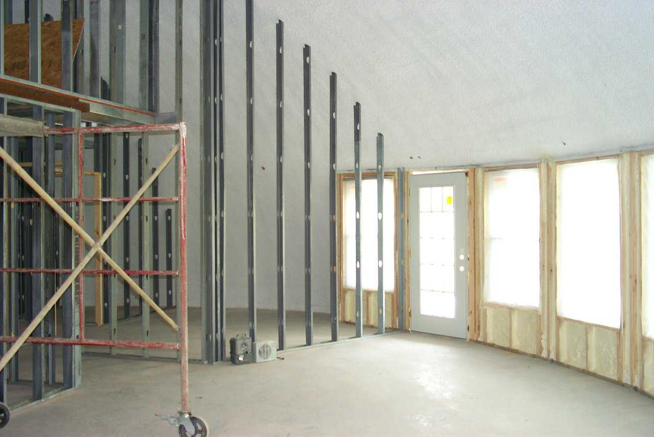 Interior Framing Monolithic Dome Institute