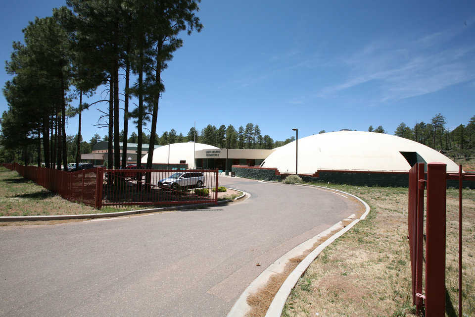 Unique Location — Cradleboard Elementary is on an Apache Reservation, at 7000 feet in Arizona's high country, nestled among the Ponderosa Pines.
