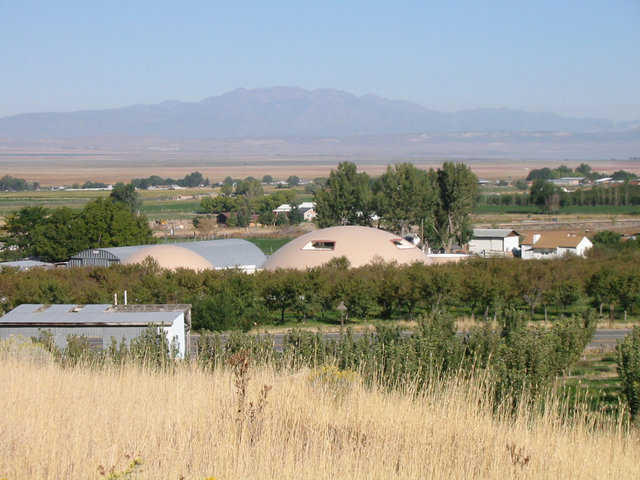 Centro De La Familia de Utah — These four Monolithic Domes in Genola, Utah were designed and built as a facility for Utah's migrant workers. It includes a Head Start school for children and various educational programs for adults.
