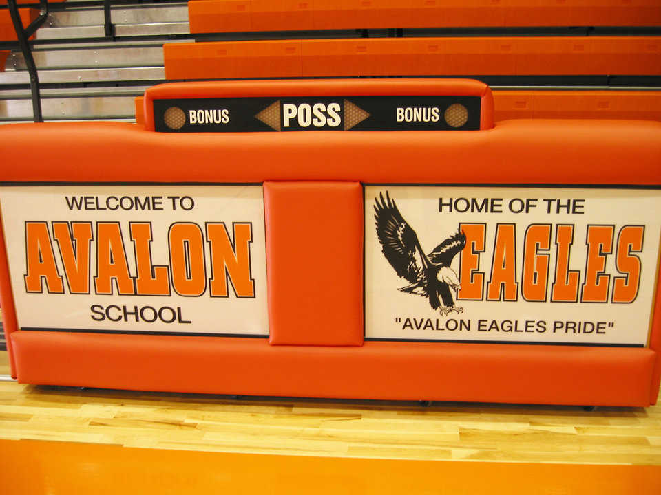 What's the score? — The Avalon Eagles have a very visible score table.