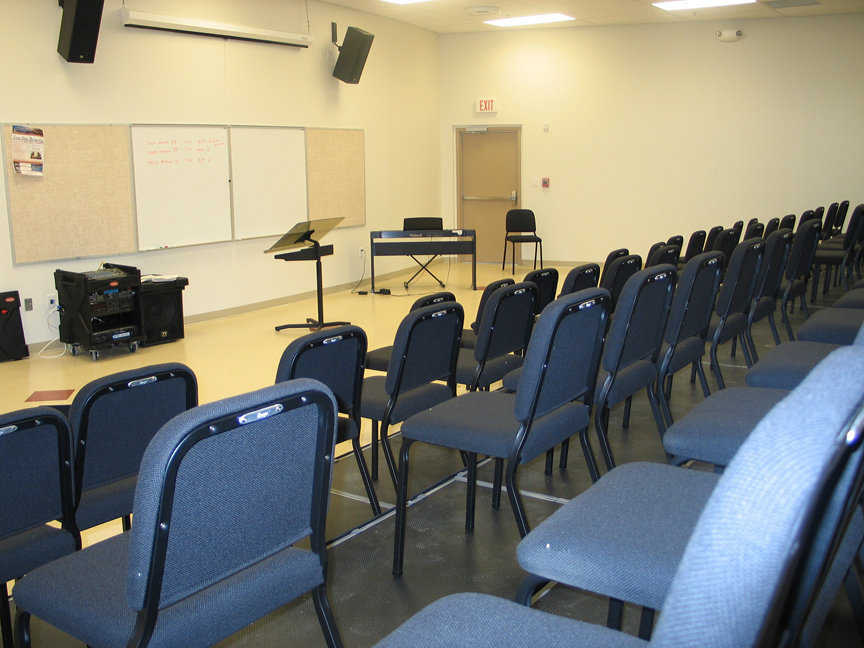 Room of their own — NCTC's singing groups now have a room of their very own for rehearsals.