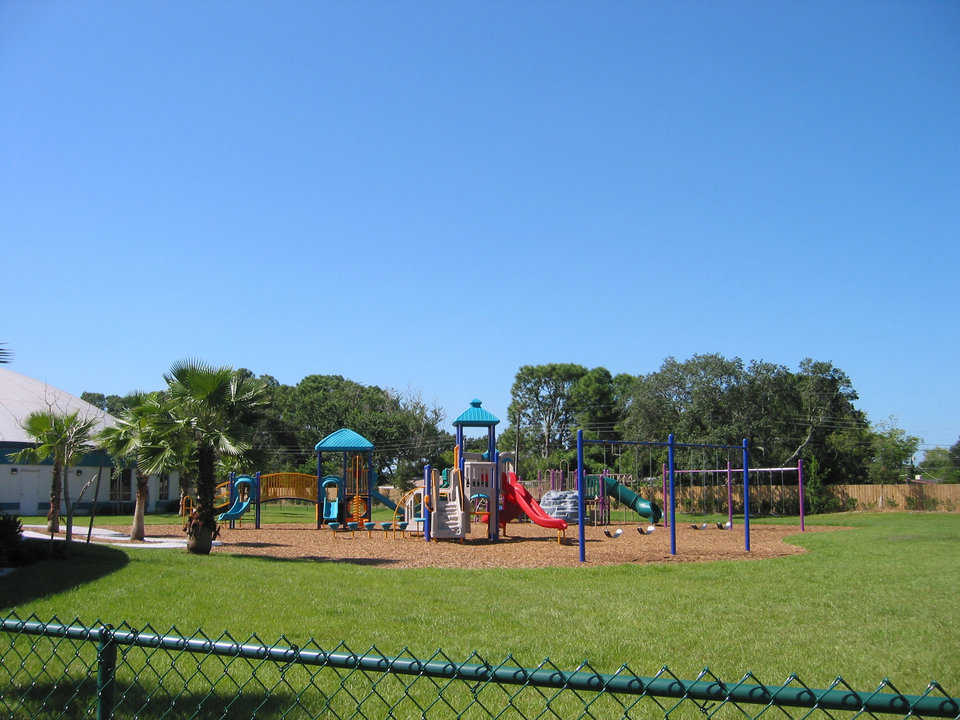 Play time — The Academy's campus includes a well equipped, safe playground.
