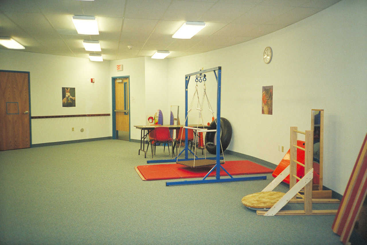 Special Education  — Its soft overhead lighting creates a pleasant atmosphere.