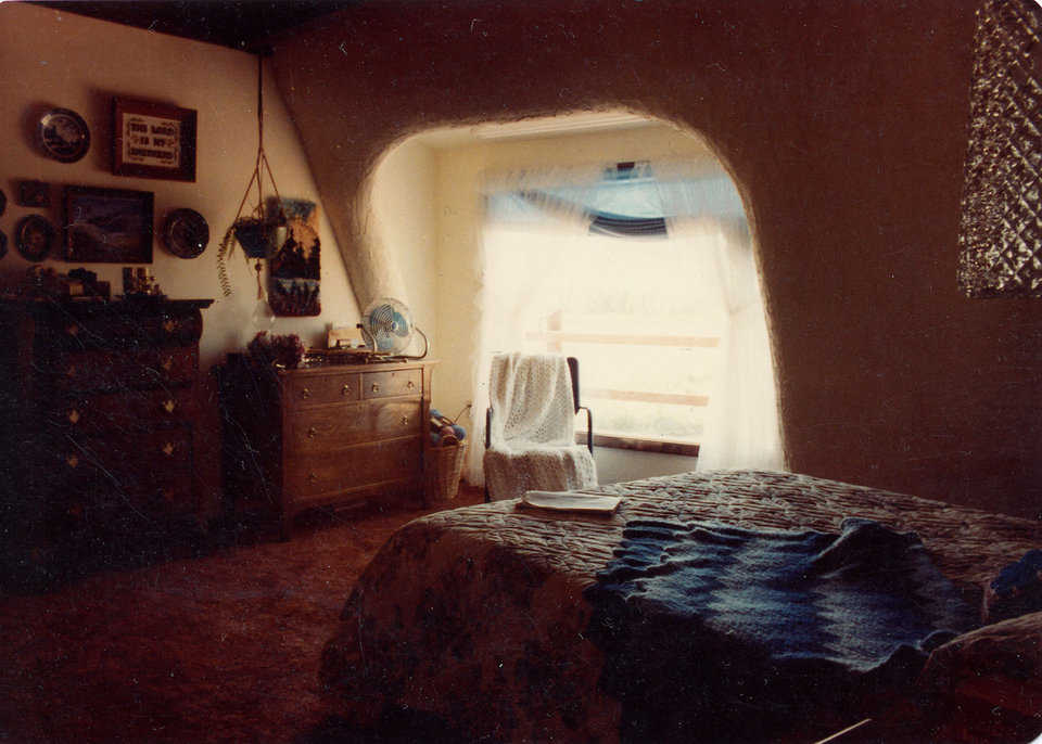 Bedroom — Over the years, Cliffdome comfortably accommodated all of its many occupants.