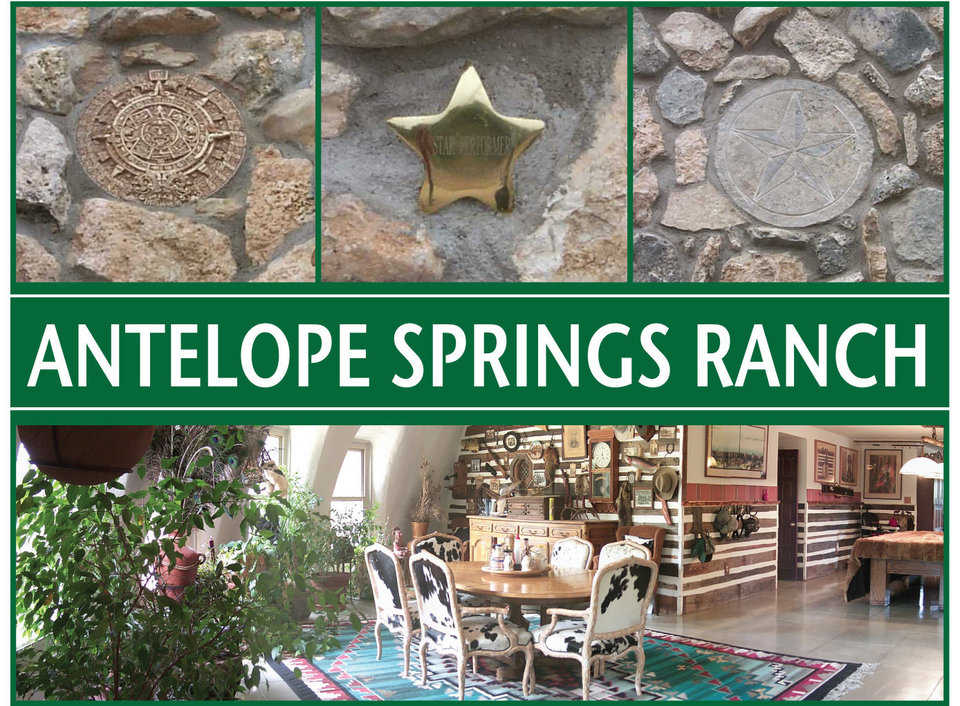 The lodge — Antelope Springs Ranch entertains guests during the October-to-January hunting season.