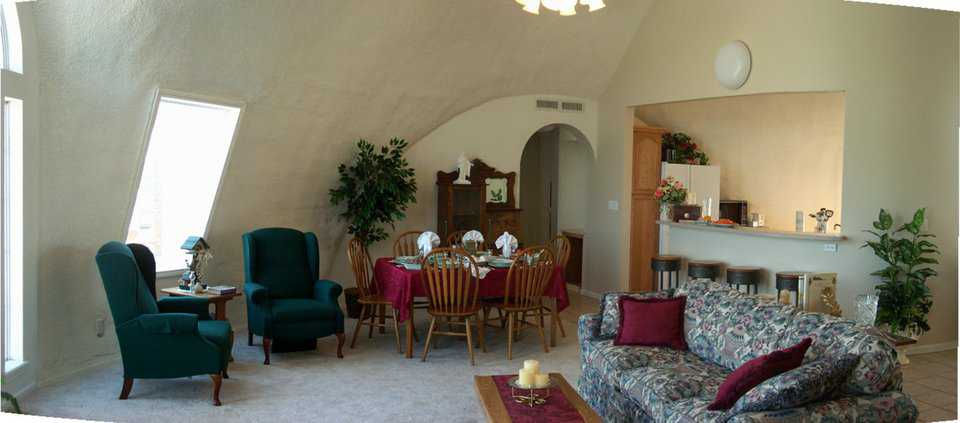 Dining  — This dream dome home has a formal and a casual dining area.