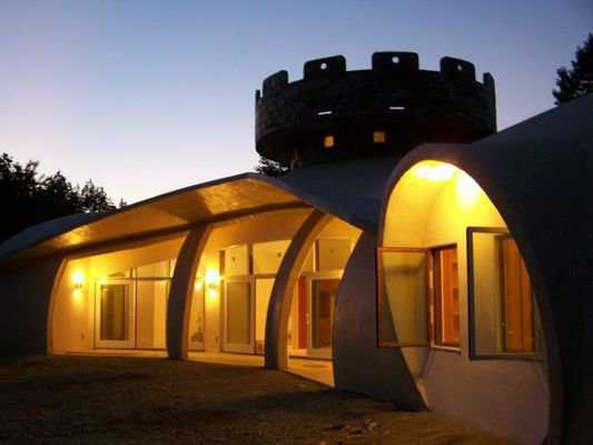 A Dome Fit For A King Monolithic Dome Institute
