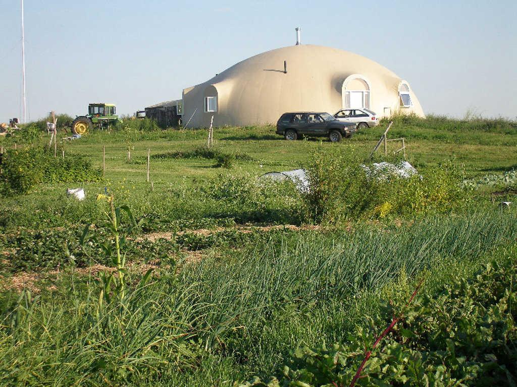 Off Grid Central Alberta Monolithic Dome Monolithic Dome