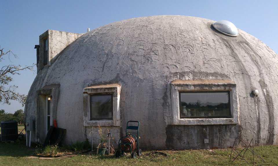 Survivor u2013 This Blanchard OK dome was